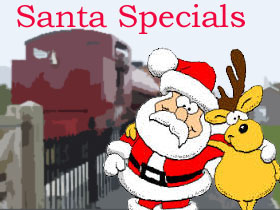Steam Along On The Santa Special!
