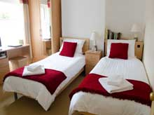 Twin en suite bedrooms