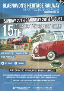 August Transport Rally