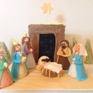 Nativity Cake For Christmas 2017