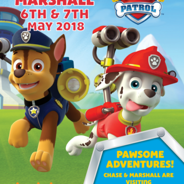 Paw Patrol Come To The Heritage Railway!
