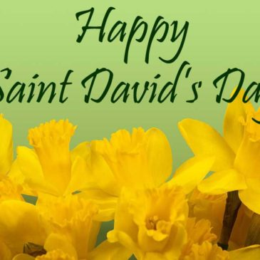 Time To Celebrate Saint David's Day! Time To Celebrate