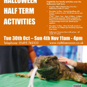 Animal Handling And Spooky Crafts For Half Term