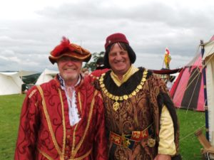 Tudors At Raglan Castle