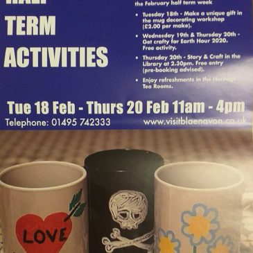 February Half Term Activites At The World Heritage Centre