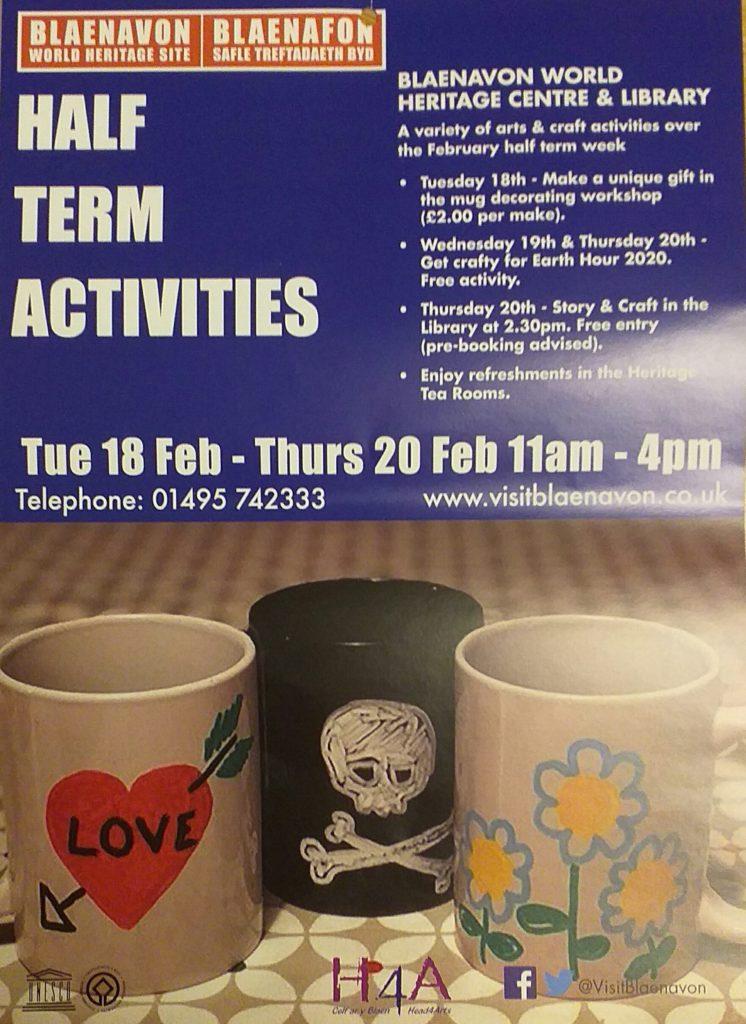 February Half Term Activities 2020